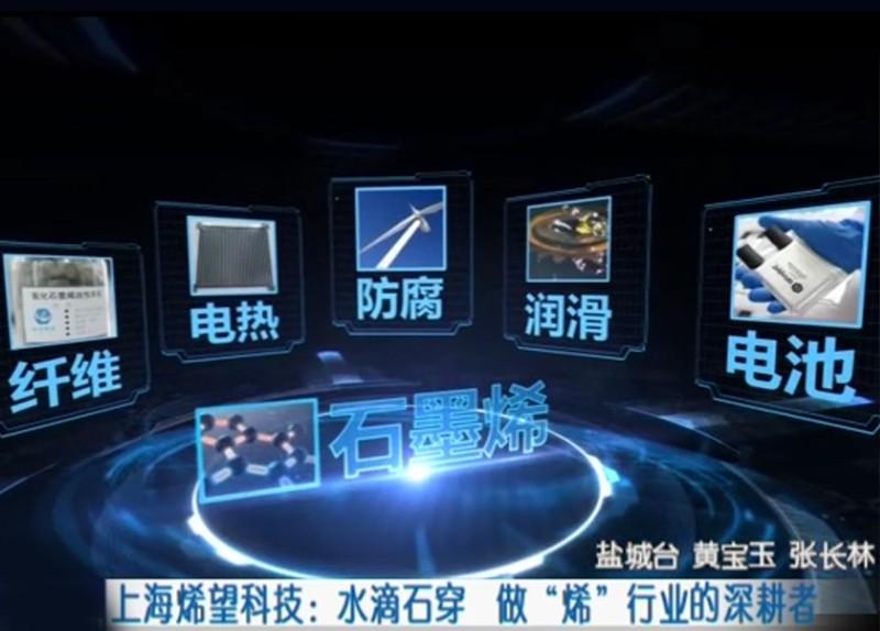 """【今日头条】上海烯望科技:水滴石穿 做""""烯""""行业的深耕者"""