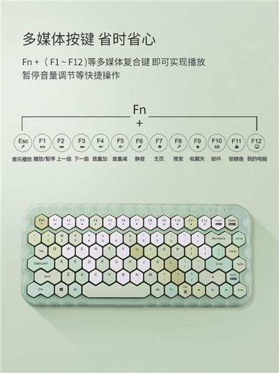 摩天手/MOFII无线键盘鼠标套装