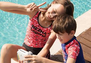 泳装拍摄 | 水立方亲子系列泳装