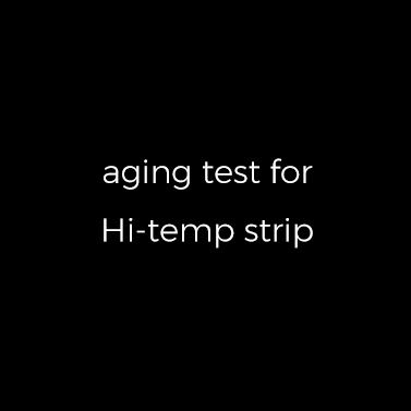 High temperature test