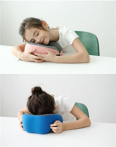 午睡枕趴睡枕学生夏季教室桌上