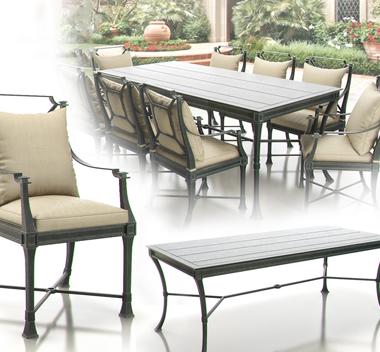 美式餐桌组合3d模型