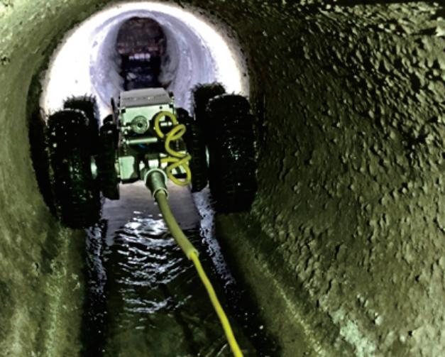 CCTV管道检测机器人——3D影像系统在排水溯源的实践