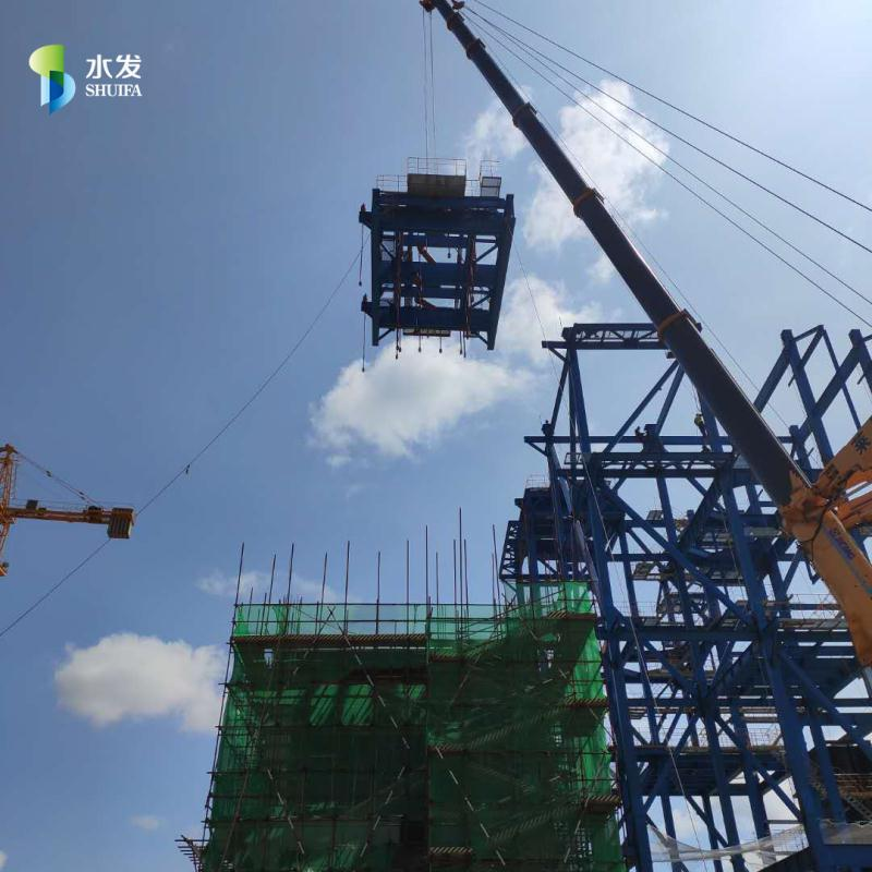 海阳贝博app下载生物科技ballbet2#锅炉汽包顺利完成吊装