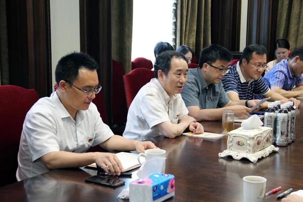"""长江联合置地、基础设施投资、进出口分公司党支部联合举办""""四史""""学习教育党课"""