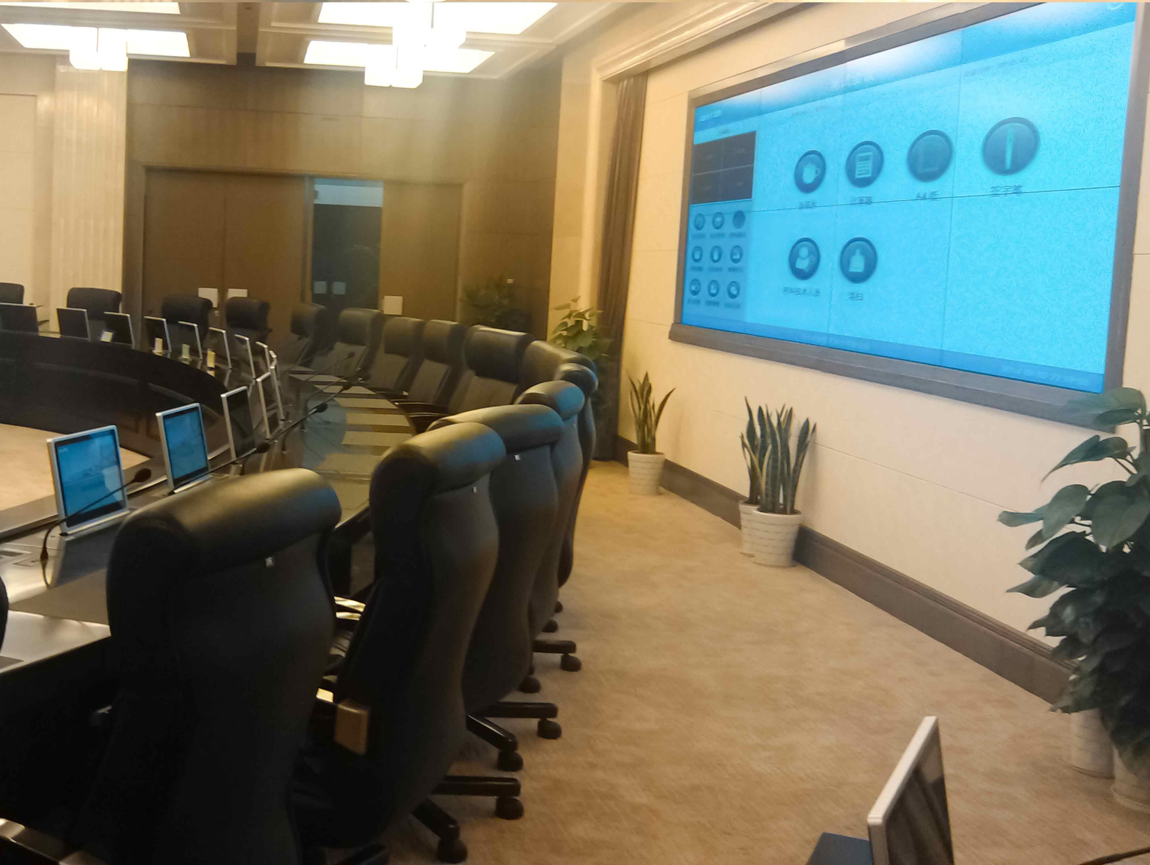 南京市中级人民法院 丨无纸化会议室项目
