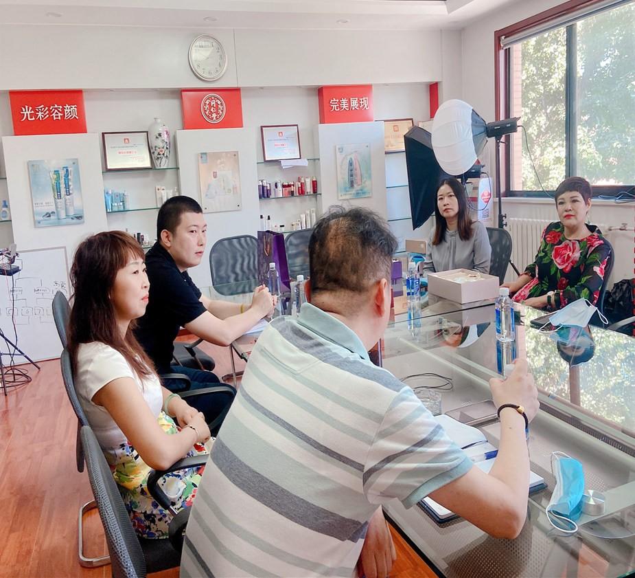 集团董事长魏丽虹一行拜访北京同仁堂麦尔海生物技术有限公司参观学习
