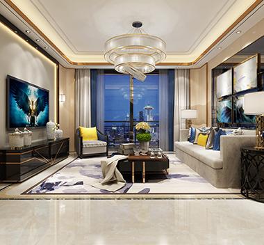现代客厅d模型