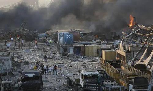 黎巴嫩首都爆炸