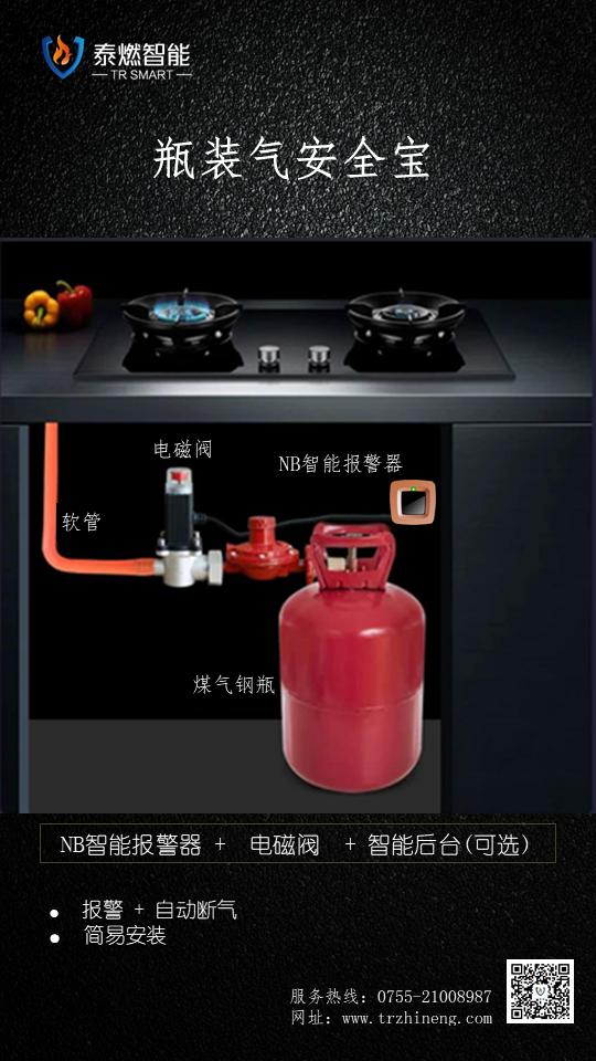 瓶装气安全解决方案