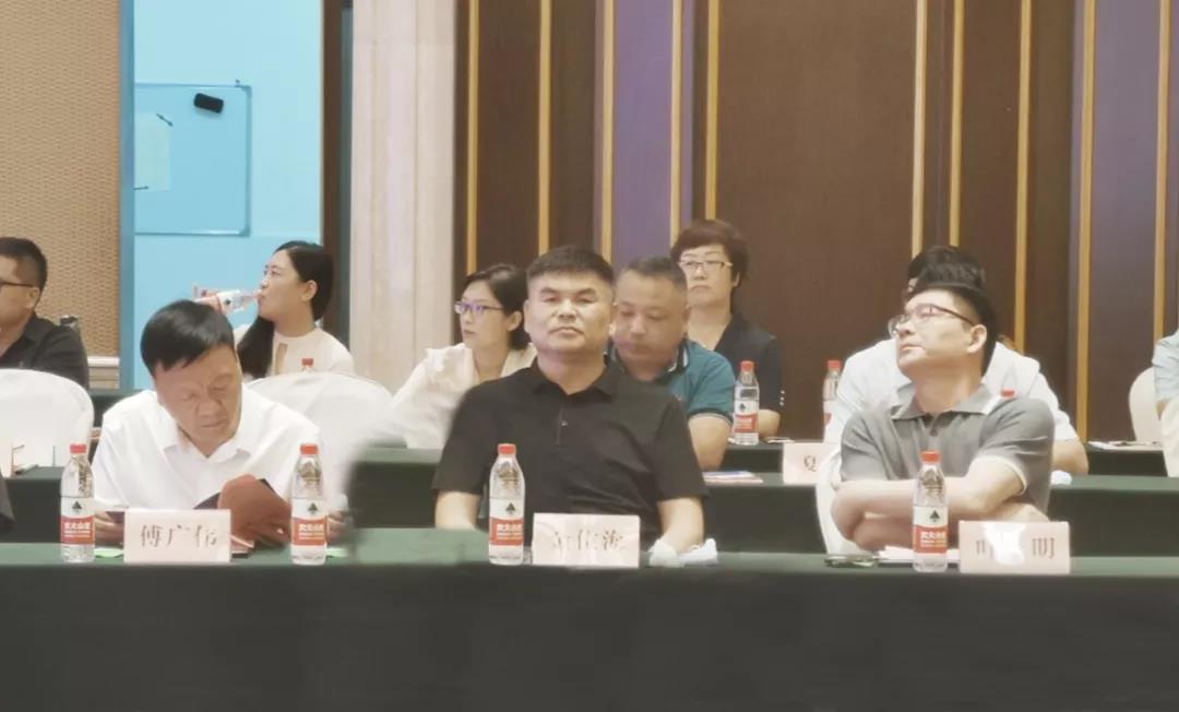 董事局主席金位海受邀参加济宁太白湖新区(杭州)投资说明会