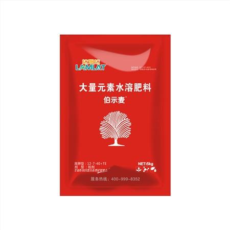 复合肥料-伯示麦特种复合肥料(12-7-40+TE)5kg