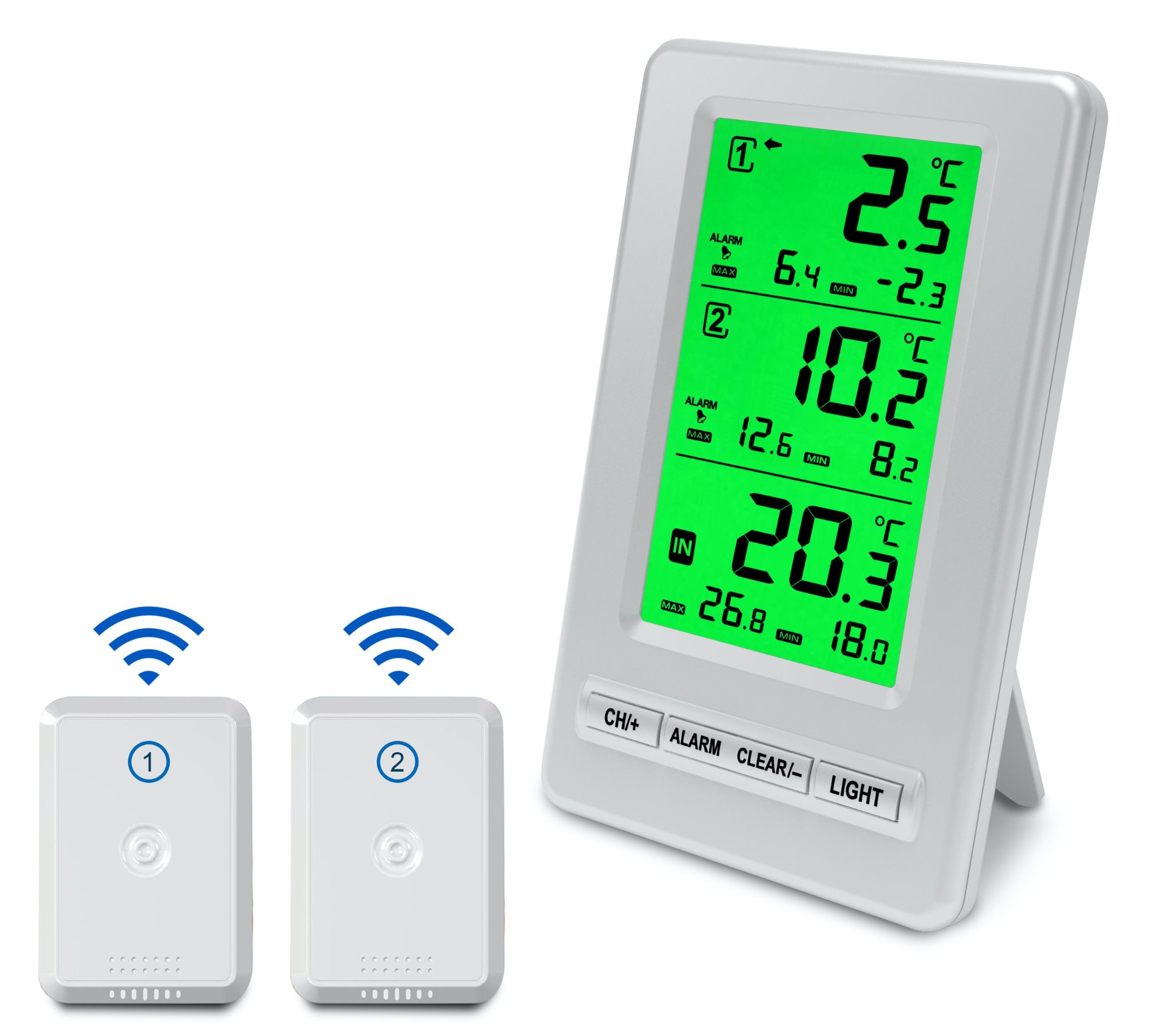 FT-0418 Wireless fridge freezer thermometer