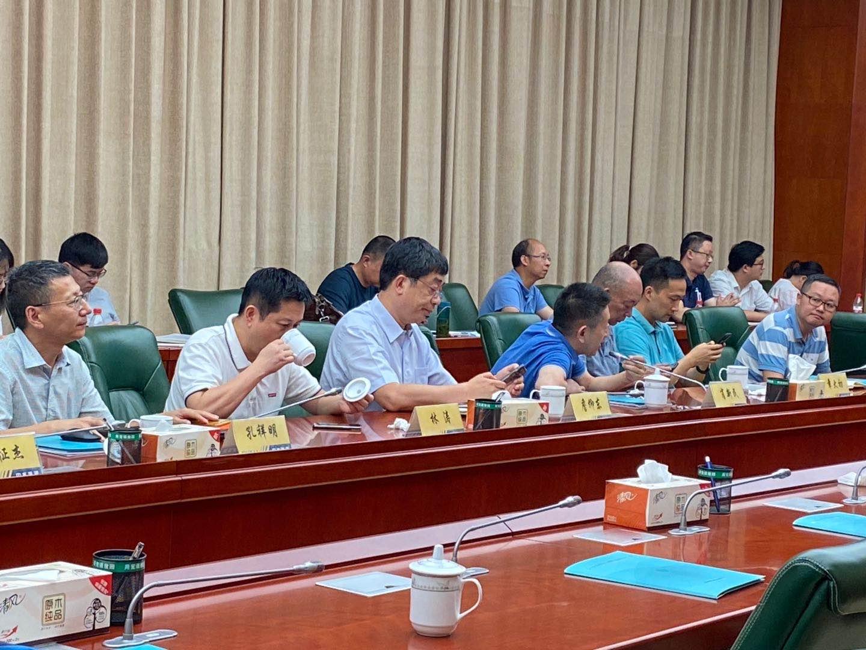 沃而润受邀参加中水淮河规划设计研究院有限公司技术对接会