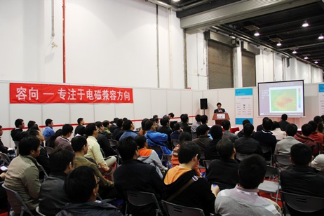 容向公司参展的2012上海EMC展览会圆满成功