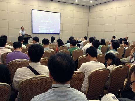 公司参展2014北京EMC展览会圆满成功
