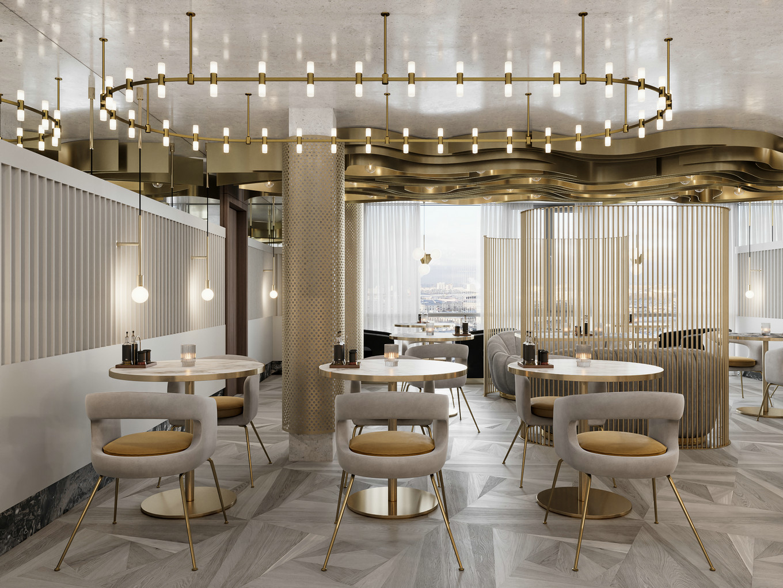 莫斯科五星酒店的局部改造