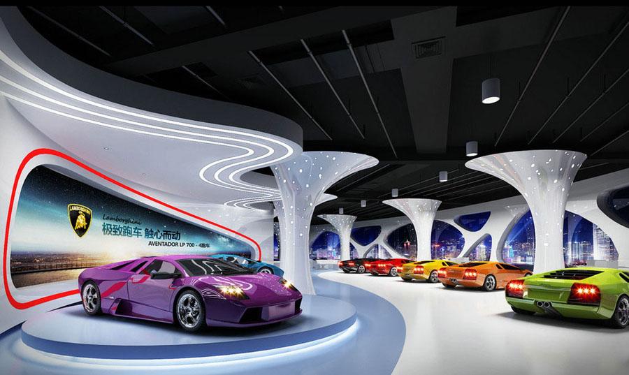 车展展厅展台