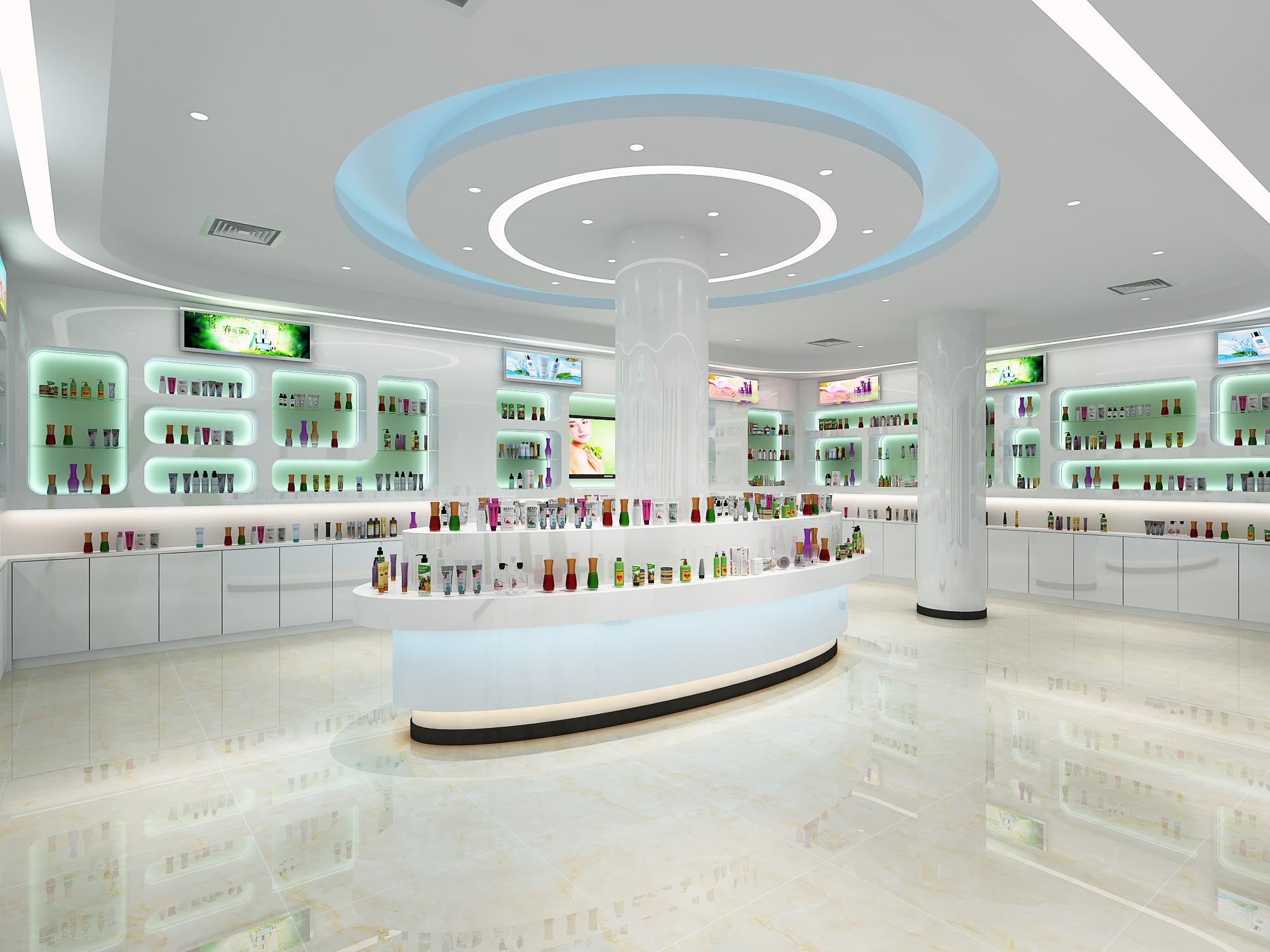 化妆品展厅