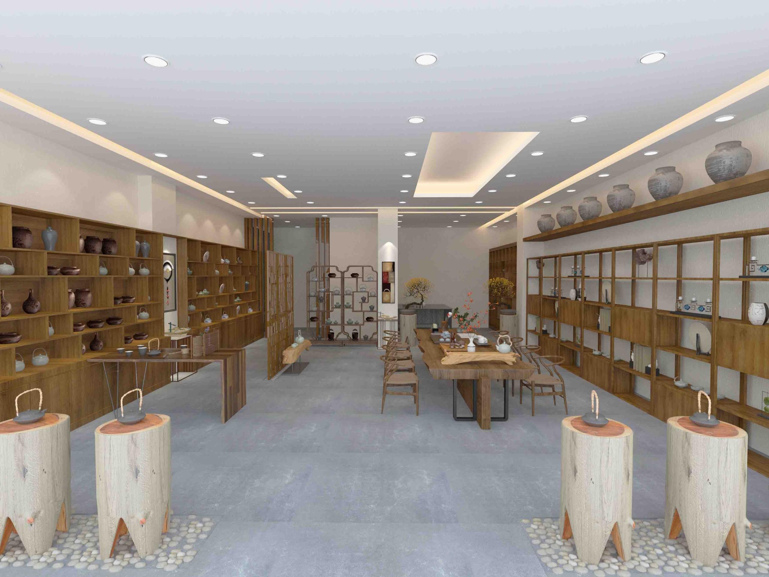 中式茶室展厅