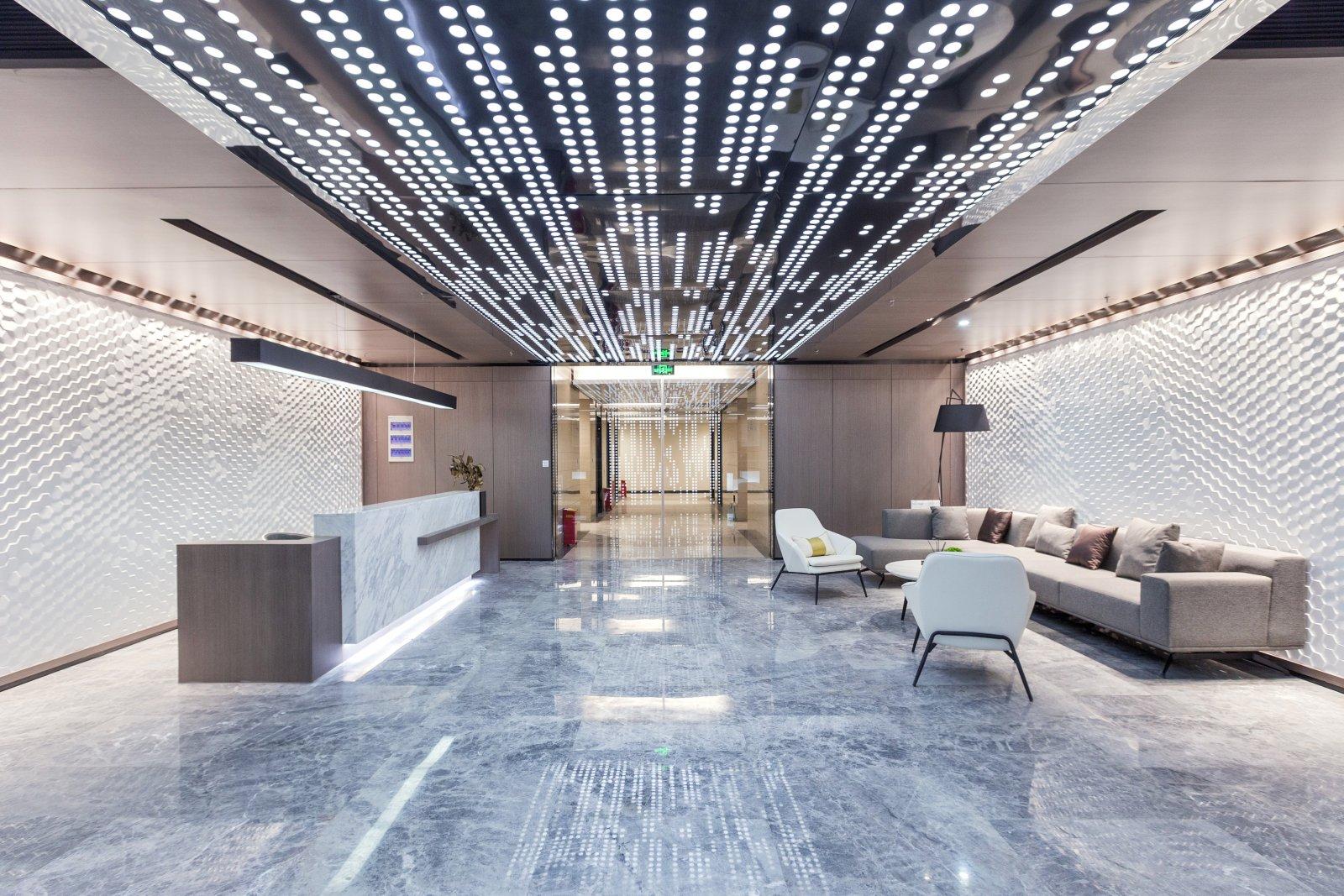 江湾国际中心办公展示区