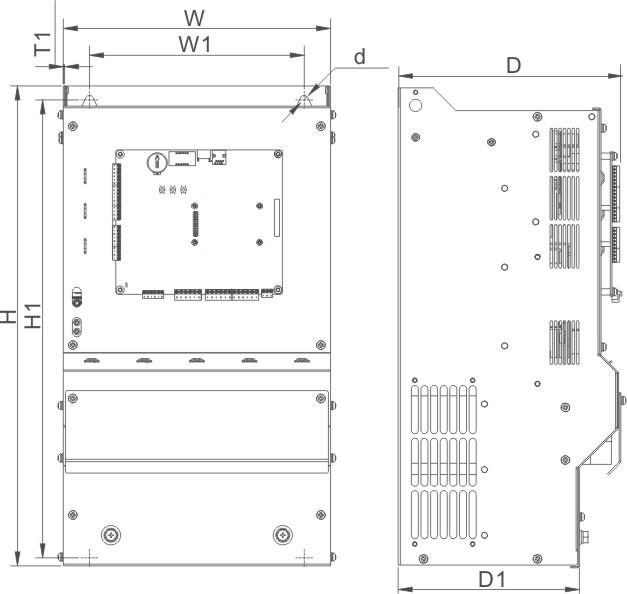AIEC3300电梯一体化控制器