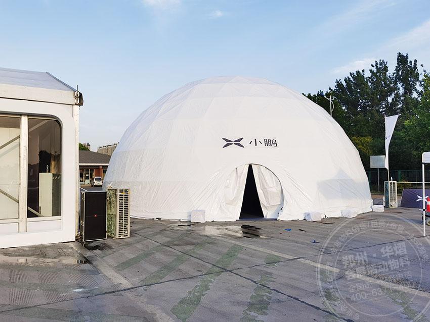周口-商丘篷房租赁公司打造别致的圆形篷房