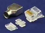 水晶头8P8CS短身(CAT6A)配1.1插芯