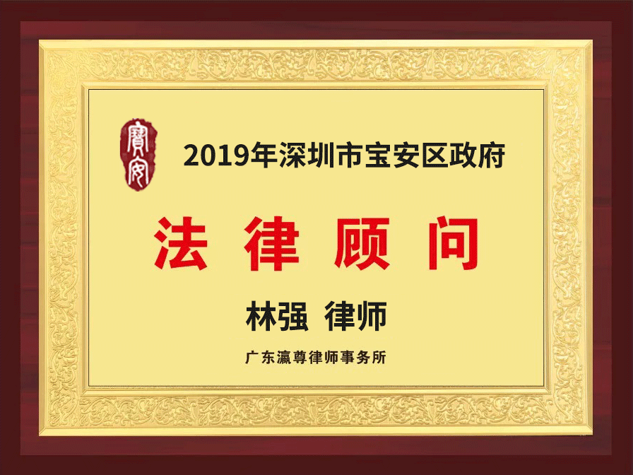 瀛尊-深圳市宝安区政府法律顾问