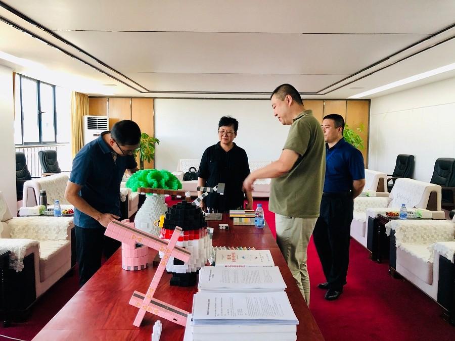 中国高新技术产业化研究会过迎主任来我司考察