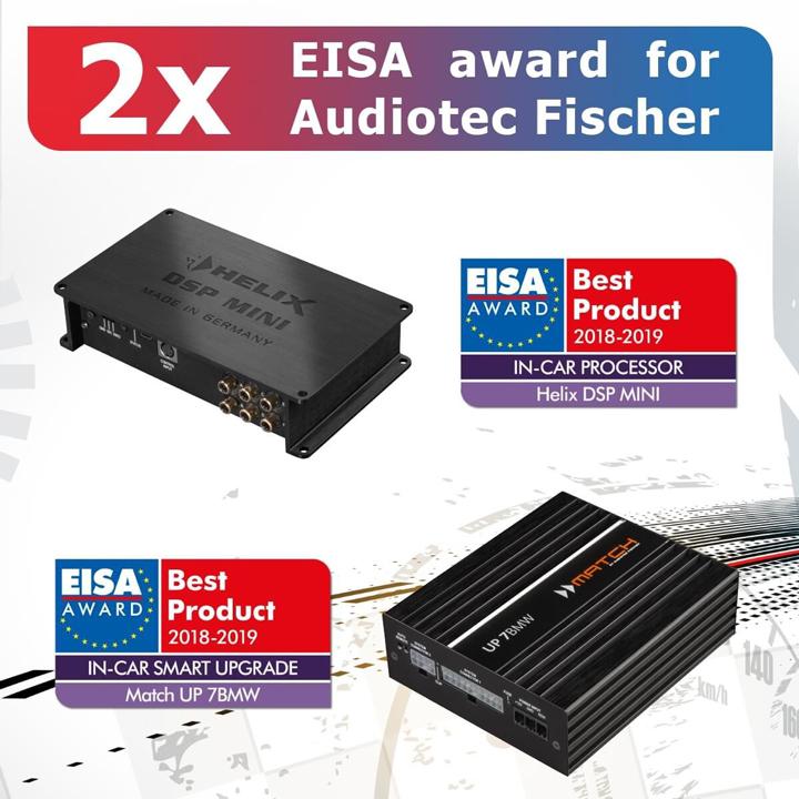 特大喜讯|德国HELIX DSP ULTRA处理器荣获行业最高荣誉EISA大奖