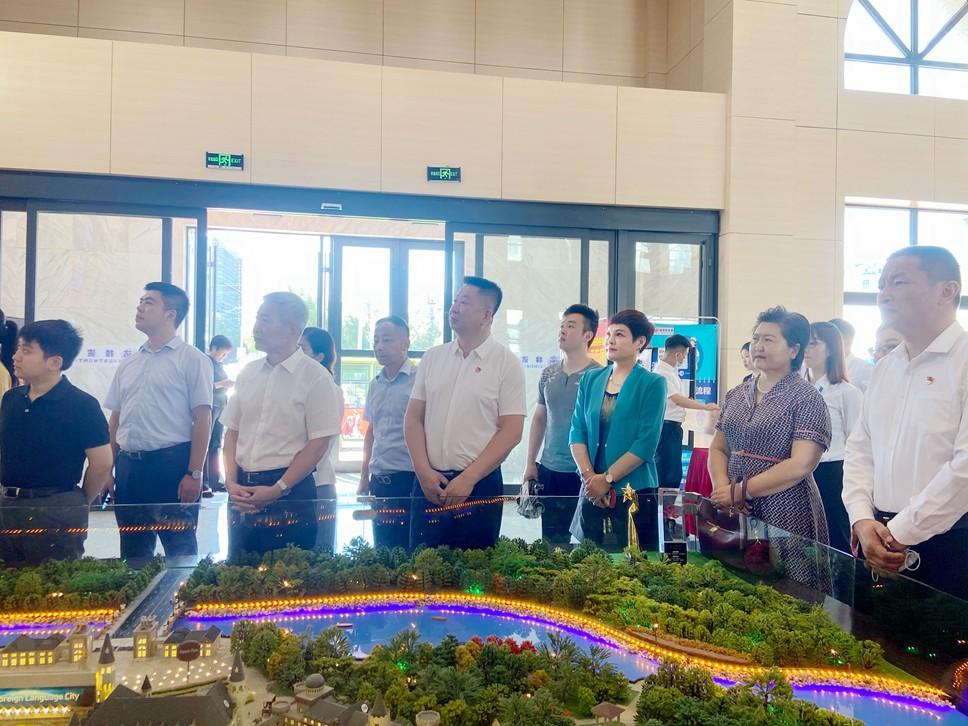 董事长魏丽虹应中企会与林达集团邀请赴哈尔滨参观交流