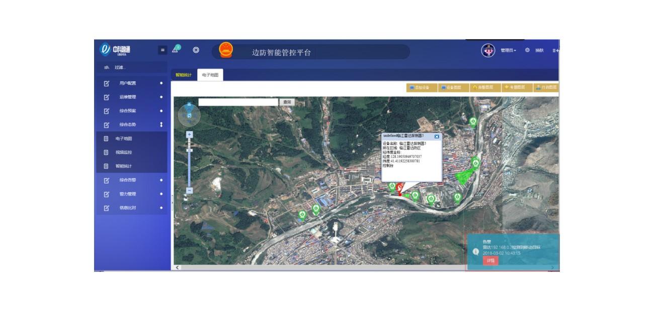中科融通边境防控平台软件