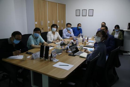 金晖区长调研北京kok体育官方链接科技有限公司