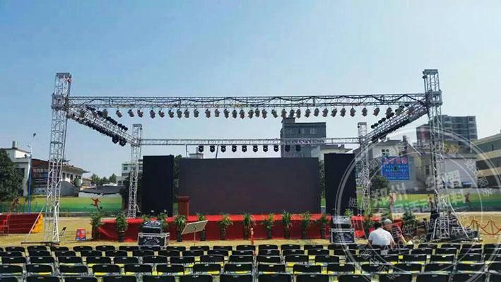 驻马店\信阳舞台桁架租赁如何搭建出不一样的舞台?