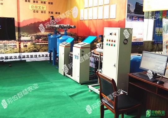 湖北省蔬菜生產全程機械化現場觀摩會—上海邦伯水肥一體化展示