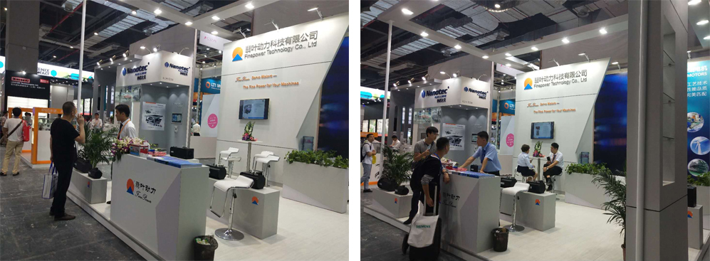 成功參展上海工業自動化展IAS