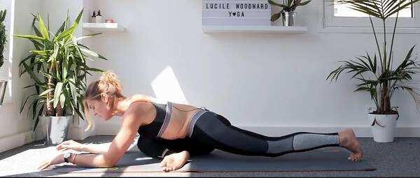 萨托瑜伽-阴瑜伽腿部体式分解