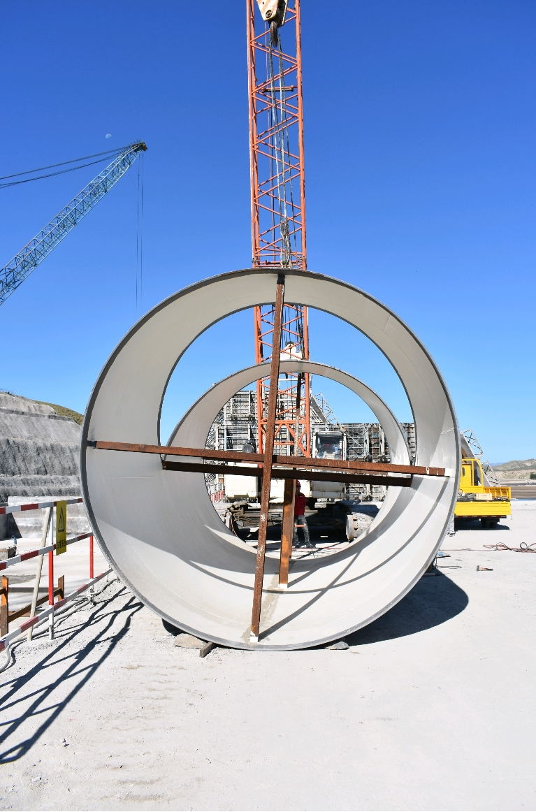 赤峰市林西东台子水库完成重要施工节点