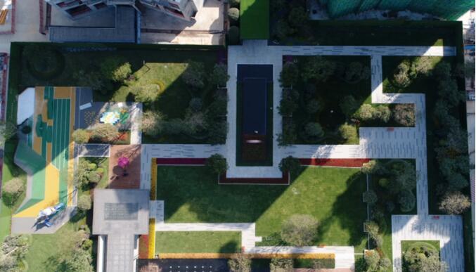 我们在城基 | 具象与抽象巧妙营造,尽显园林空间氛围