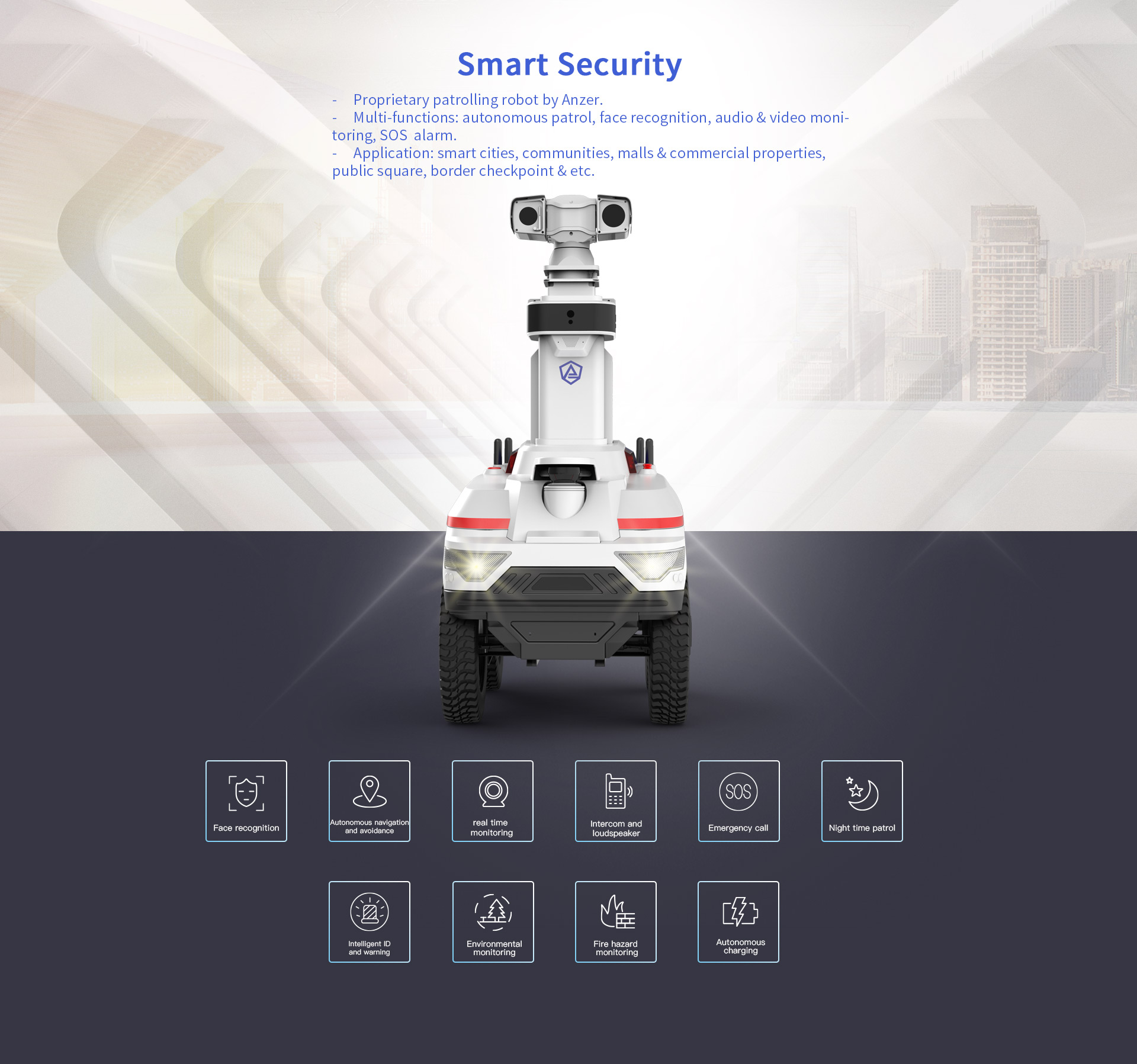 Patrol robot AN-C