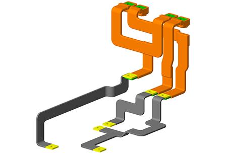 电动汽车连接铜排