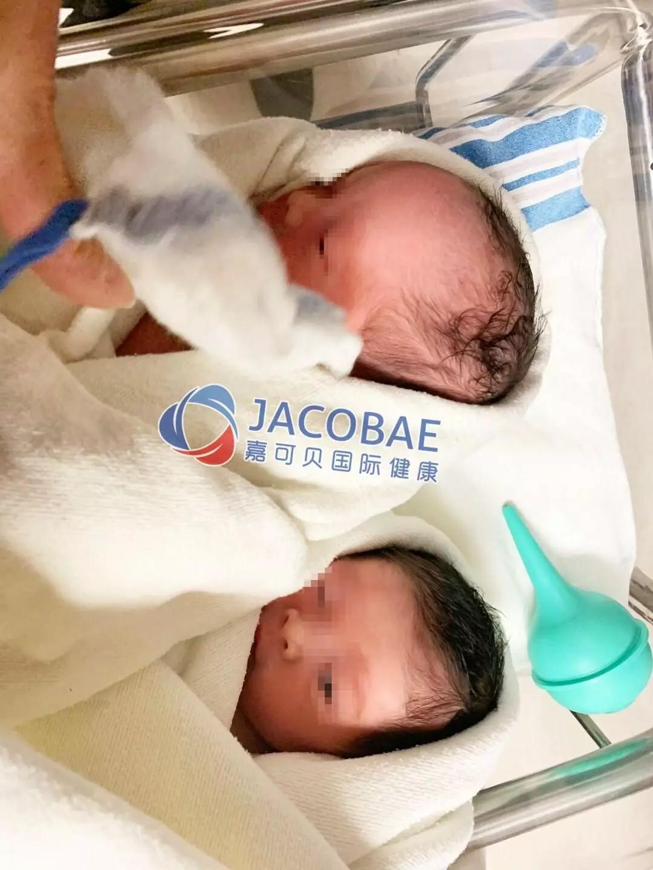 赴美生子双胞胎成功案例