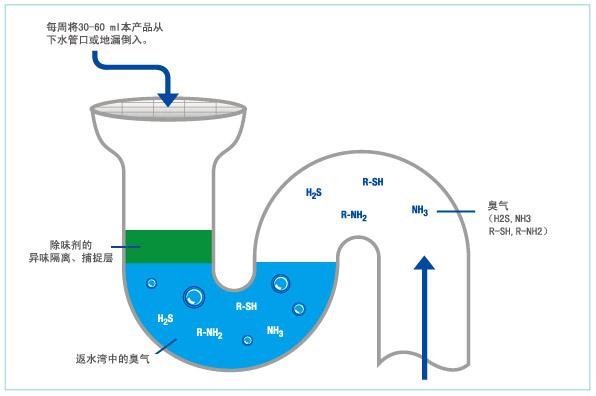 下水管除味剂