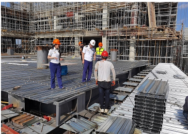 上海:静安万博网页版注册登入联合多部门开展在建工地万博网页版注册登入安全专项检查