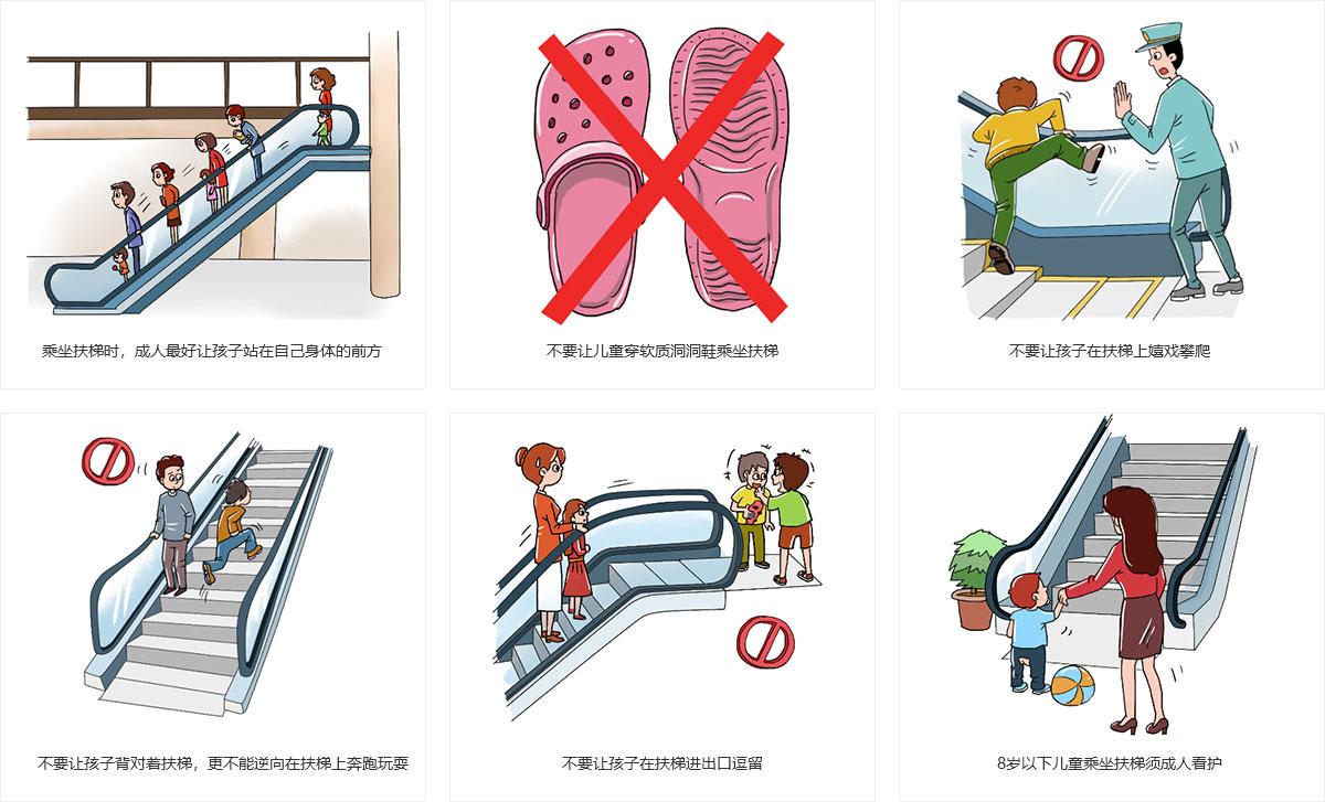 儿童乘梯安全