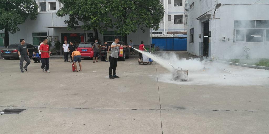 公司消防演练总结
