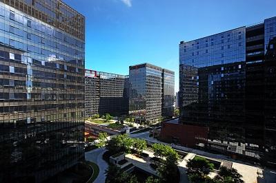 深圳科技园办公室招租商介绍:办公室景观设计的原则