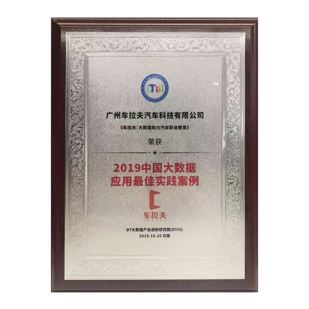 2019中国大数据应用最佳实践案例