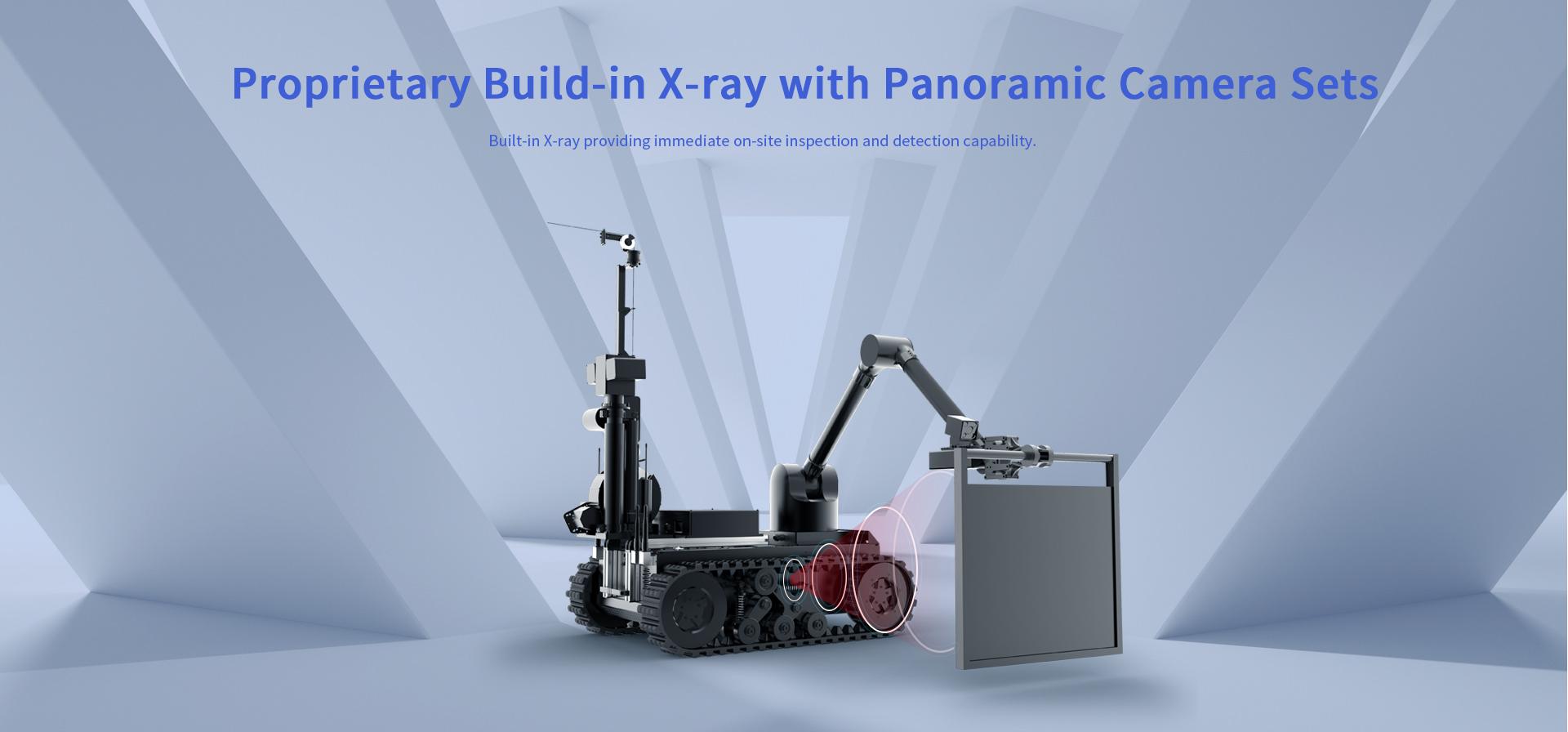 X-ray EOD detection robot Tracker IIIX
